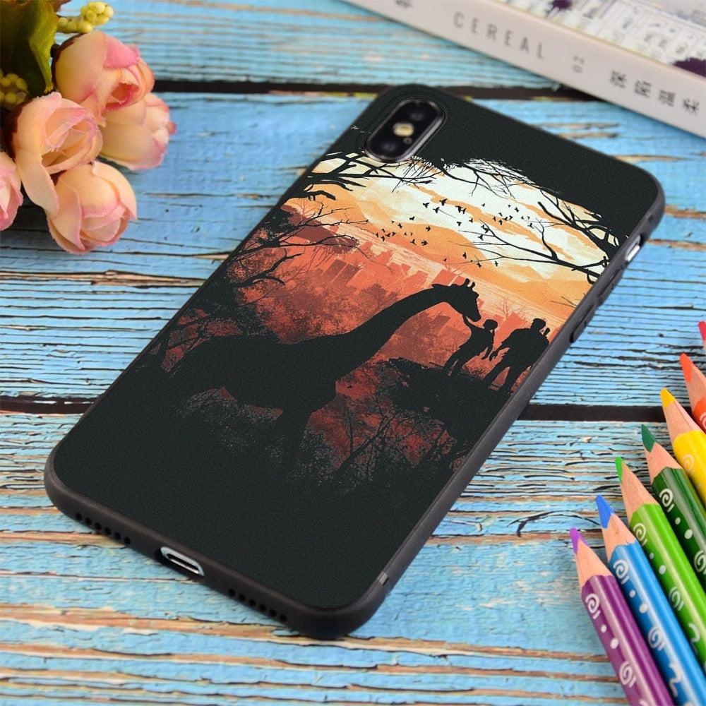 The Last Of Us Print Soft TPU Matt Case For Apple iPhone and Samsung Galaxy