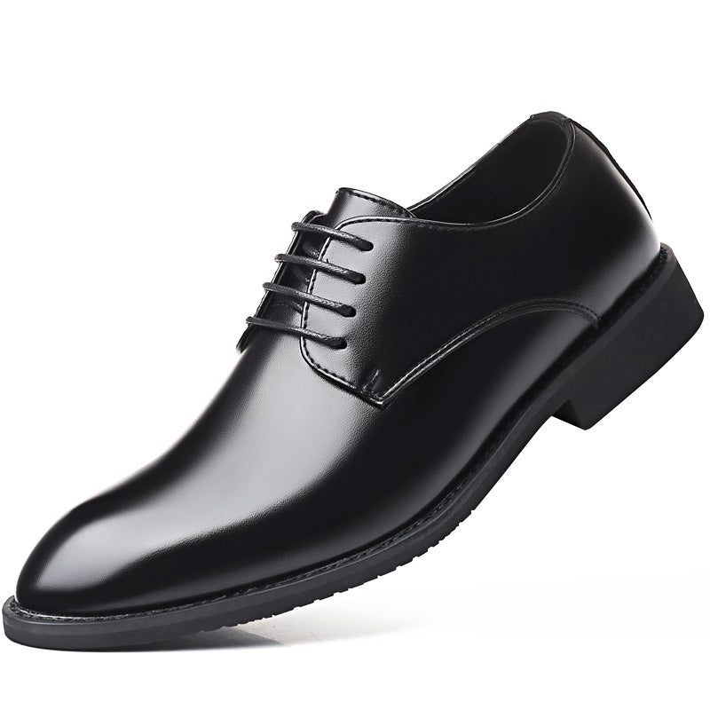 British Style Men's Casual Business Leather Shoes