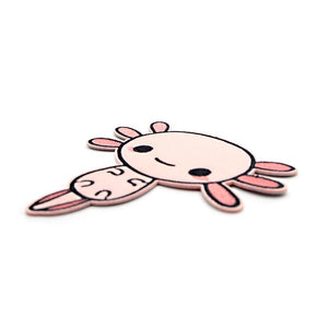 L1425 Axolotl Patch Clothes Accessories Patch Embroidered Applique Sewing Tool Cloth Iron On Patches