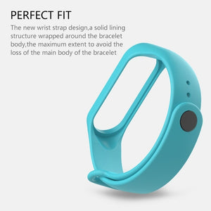 mi band 4 Strap Bracelet for Xiaomi Mi Band 3 4 Strap watch Silicone wrist strap For xiaomi mi band 4 bracelet and Miband 4 3 band4.