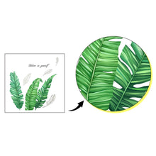 Load image into Gallery viewer, DIY Tropical Beach Palm Leaves Wall Sticker Modern Nordic Art Decal Vinyl Mural Wall Decor for Home Bedroom