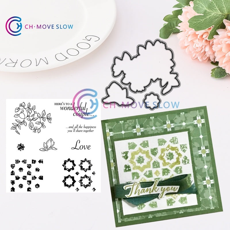 Animal flower collection Transparent Clear Silicone Stamp/Seal for DIY scrapbooking/photo album Decorative clear stamp sheets