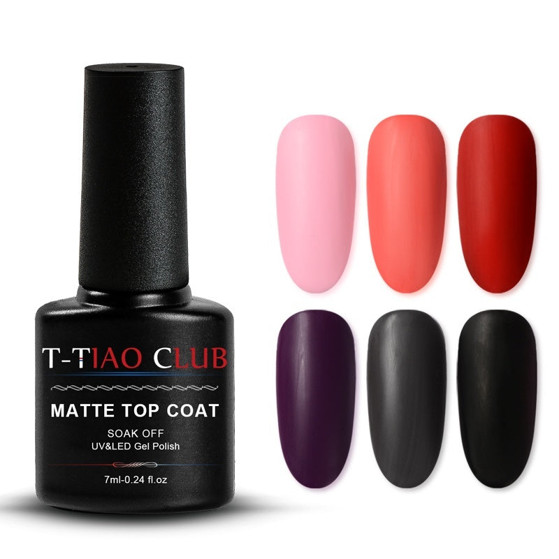 52 Colors 7ml T-TIAO CLUB Soak Off UV Gel Polish Red Purple Series Nail Art Gel Polish