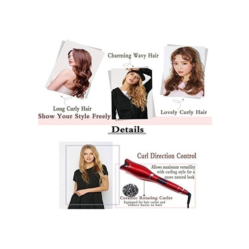 Women Fashion Multi-Function Curling Iron Professional Hair Curler Styling Tools Curlers Ceramic Automatic Hair Curlers