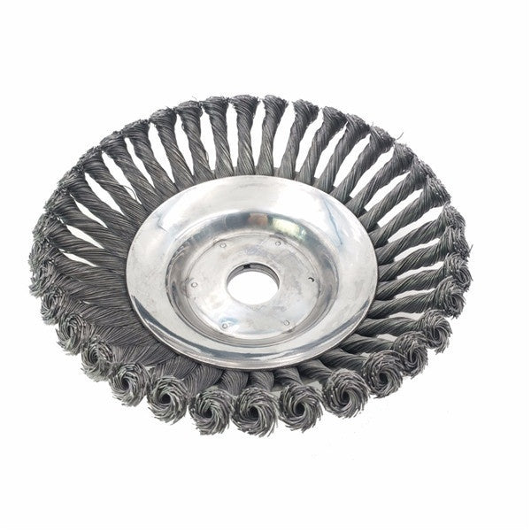 Professional Knotted Steel Wire Trimmer Head Grass Brush Cutter Dust Removal Weeding Tray Plate for Lawnmower Attachment