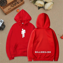 Load image into Gallery viewer, Unisex New Fashion Long Sleeve Billie Eilish Dance Printed Hoodies Front Pocket Inside Fleece Overshirt Pullover Hoodie Sweater Sweatshirt Jacket for Fans XXS-4XL