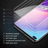 20D Curvedfilm Edge Glue Screen Protector for Galaxy S10 S10Plus S9 S9Plus S8 S8Plus S7 Note8 Note9 Note10 S6EdgePlus for S10e A6 A6plus A8(2018) Tempered Glass