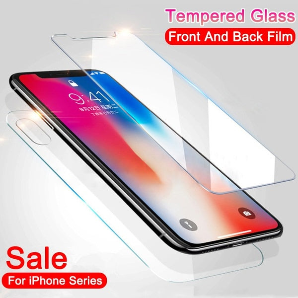 High Quality Front and Back Screen Protector Waterproof Shockproof and Clear Design for IPhone Xs Xs Max Xr X 8 8 Plus 7 7 Plus 6 6 Plus