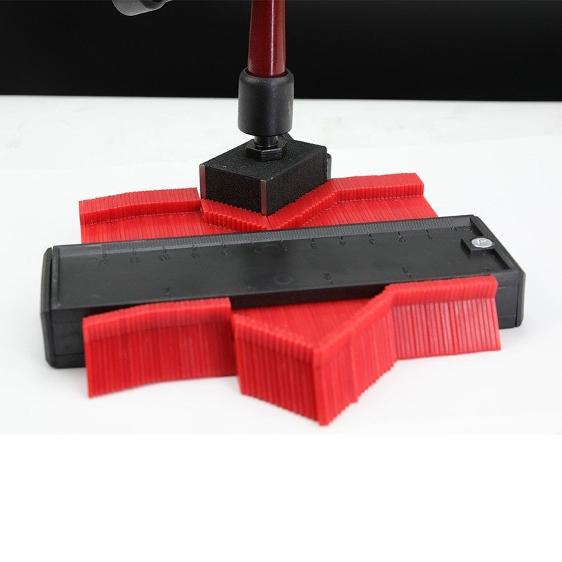 120/140MM Irregular Profile Gauge Radius Plastic Profile Copy Instrument Profiler Duplicator Standard Wood Marker Winding Tube Tile Laminate Tool Hand Tool