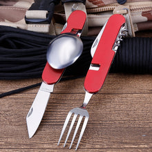 Load image into Gallery viewer, New Multifunctional Folding Detachable Combination Outdoor Travel Tableware