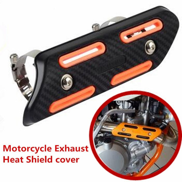 Motorcycle Exhaust Heat Shield Protector Cover Guard for KTM EXC SXF Honda CRF CB Yamaha YZF WR Kawasaki KXF KX Suzuki RM