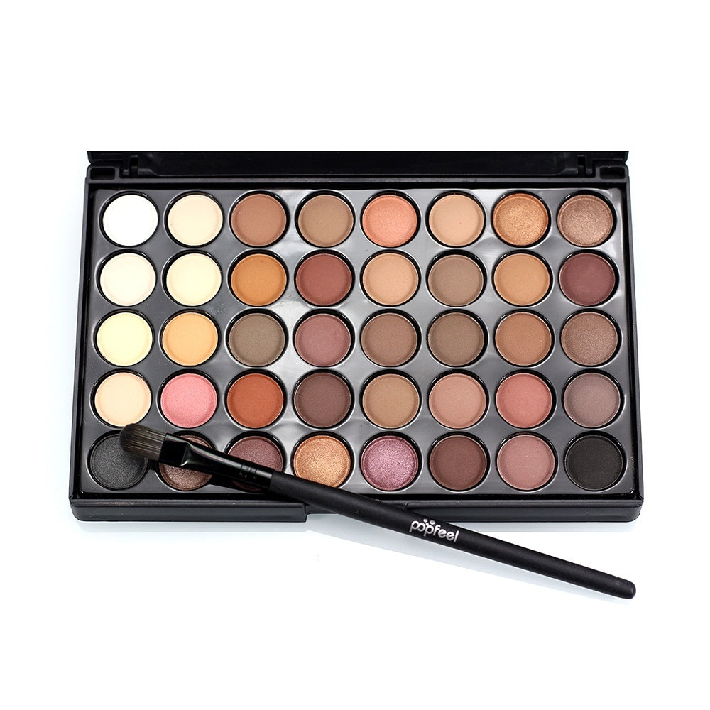 40/120/252 Colors Fashion Eye Shadow Cosmetic Powder Eyeshadow Palette Makeup Set Beauty Pigmented Eye Makeup Professional Eyeshadow