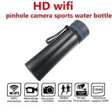 Load image into Gallery viewer, Portable WiFi 1080P Sports Drinking Water Bottle Camera Hidden Spy Cam Video Recorder Camcorder