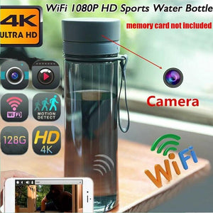 Portable WiFi 1080P Sports Drinking Water Bottle Camera Hidden Spy Cam Video Recorder Camcorder