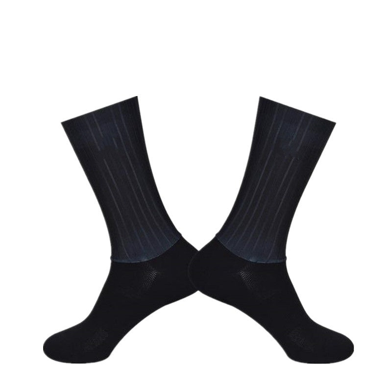 2019 new aero cycling socsks, competition special bicycle socks non-slip silicone riding socks