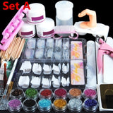 Acrylic Nail Art Set Kit(Set A or B)