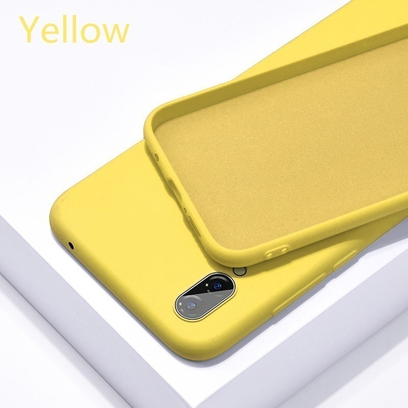 Soft Liquid Silicone Case For Samsung Galaxy  S8/S8 Plus S9/S9 Plus  S10/S10Plus S10e