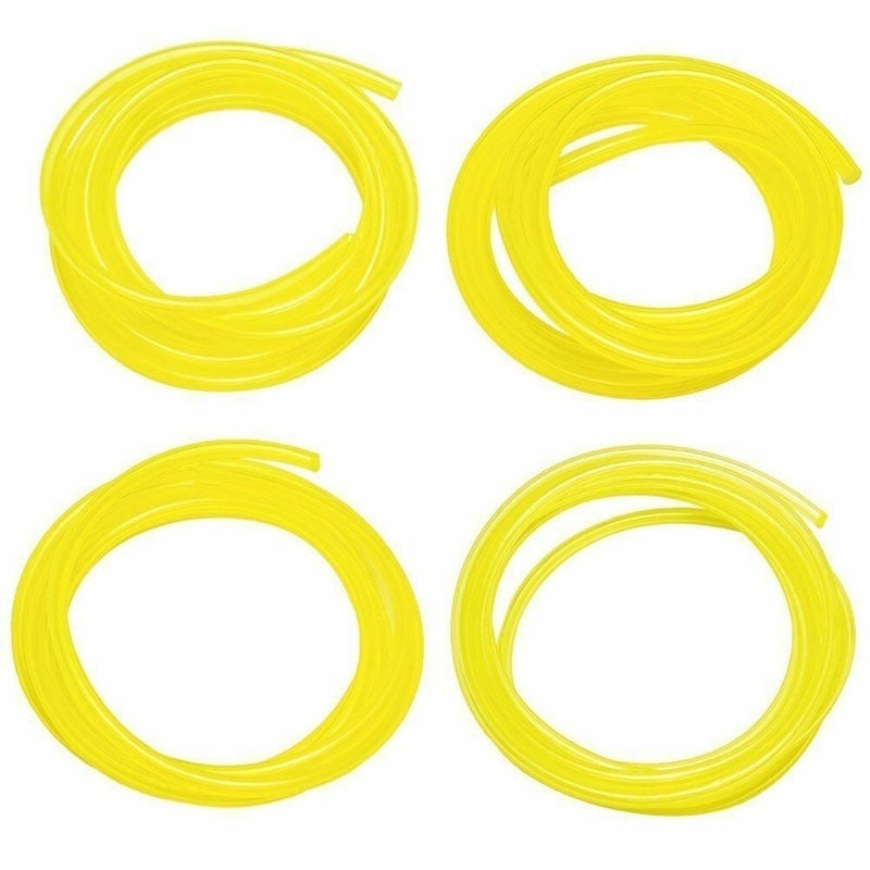 4pcs PU Petrol Fuel Gas Line Hose Replacement For String Trimmer Chainsaw Blower Engine