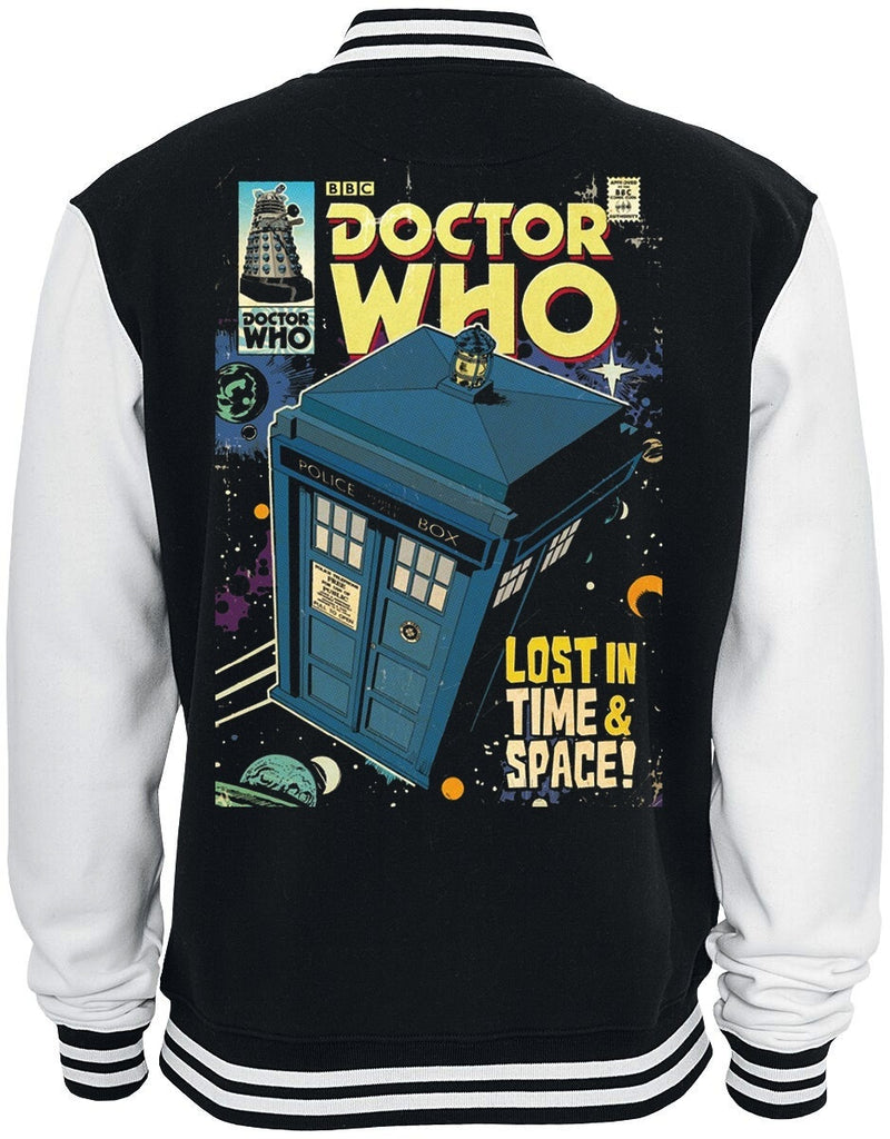 doctor who  Dr Who Tardis Baseball Jacket Sweatshirt Winter Popular Soft Hoodie