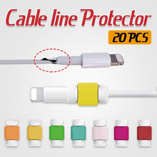 Load image into Gallery viewer, 5/10/20 PCS USB Cable Protector Charger Data Protector Cover for Iphone Ipad Lovely Mini Wire Protection Cable Cord Phone Cord Accessories (Random Color)