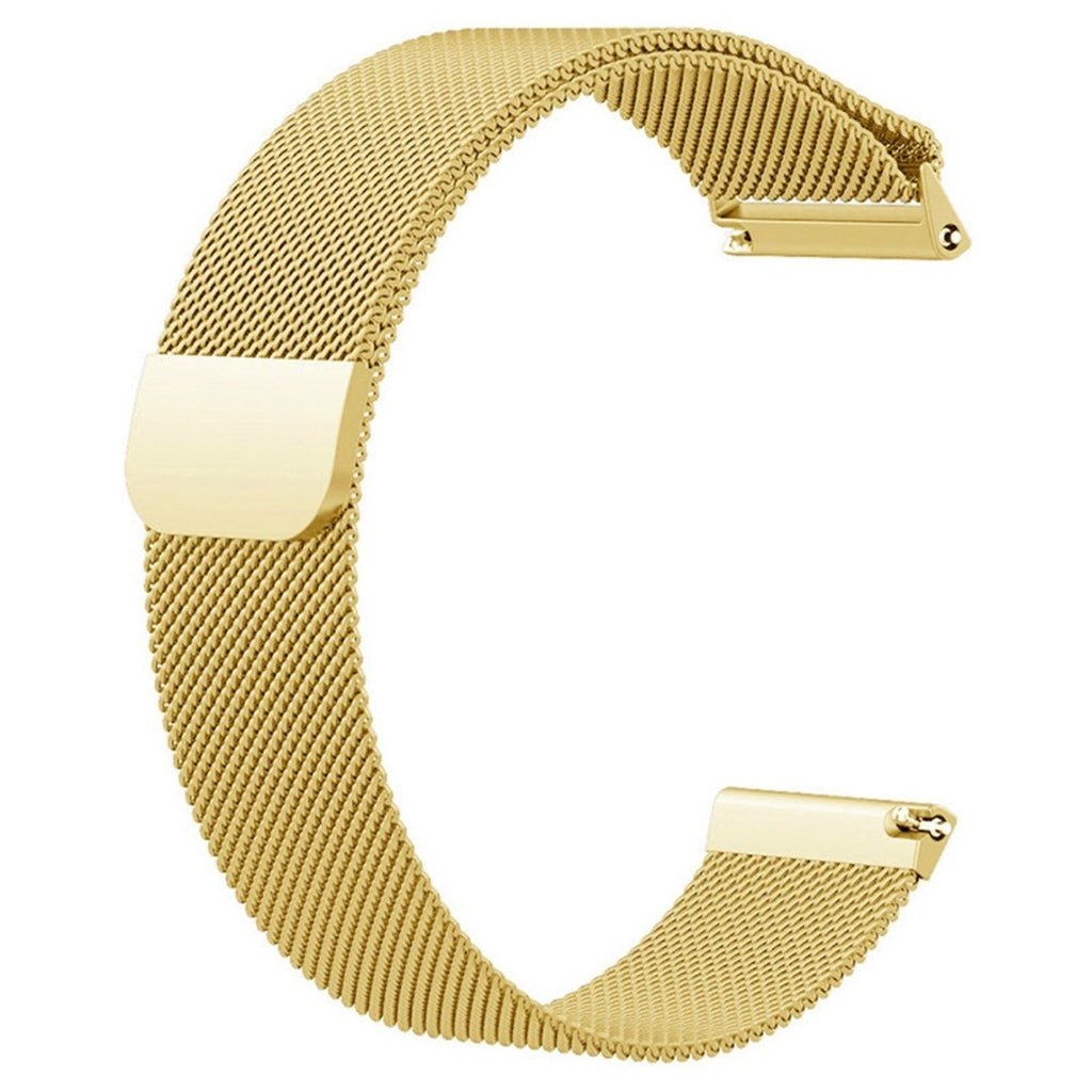 Magnetic Milanese Stainless Steel Wristband Strap Replacement Watch Band For Fitbit Versa
