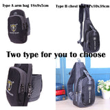 New Fashion Chest Bag Outdoor Sport Travel Shoulder Sling Backpack Pouch Sport Crossbody Shoulder Bag