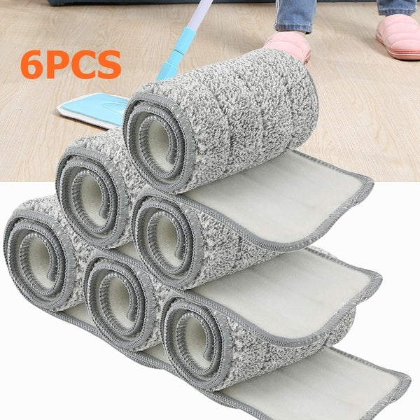 Mop Cloth Microfiber Pad Spray Wet/Dry Spraying Flat Dust