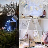 20/50/100/150/200LEDs Solar String Lights 8 Modes Solar Powered Copper Wire Fairy Lights IP65 Waterproof Indoor Outdoor Lighting for Home Garden Party Path Lawn Wedding Christmas DIY Decoration