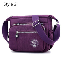 Load image into Gallery viewer, New Fashion Women Messenger Bags Nylon Waterproof Crossbody Shoulder Bag Casual Travel Handbags