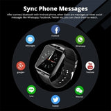 Smart Watch With Camera Bluetooth Wrist Watch SIM Card Smartwatch For IOS&Android
