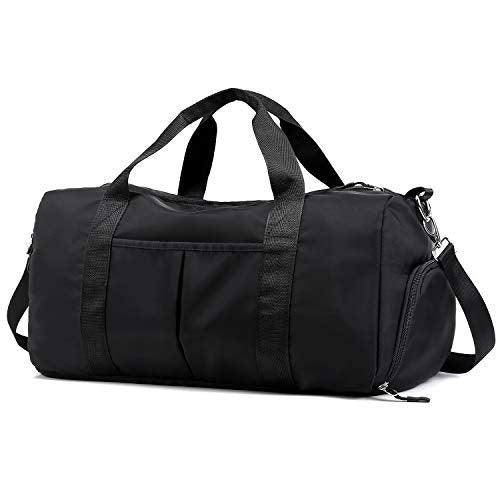 Dry and Wet Separation Shoulder Bag Sports Fitness Messenger Bag Men and Women Swimming Bag Yoga Training Large Capacity Travel Bag Storage Bag