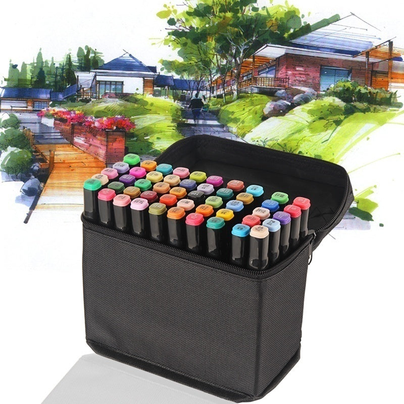 24/30/40/60 Copic Markers Sketch Set for Manga Design Double Head Brush Pen for School Art Supplies Design Markers Set
