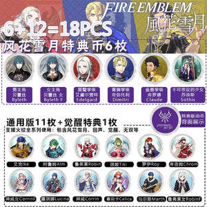 Fire Emblem: ThreeHouses Amiibo Card, Amibo Unparalleled, Awakened, Switch Linkage Card 2019 New Data