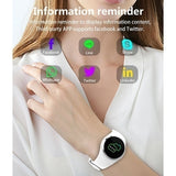2019 Relojes Inteligentes Bracelet  Woman Heart Rate Blood Pressure/Oxygen Intelligent Gift Smart Watch Fitbit Fit Bit Watch Fitness Tracker Okos Ora Sport Watch Smart Watch for Iphone  IOS  Android Phone