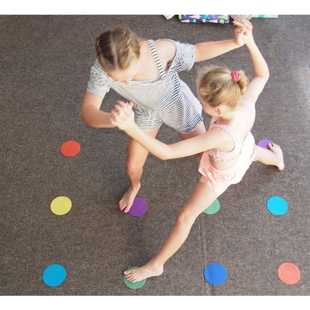 20/30/48 PCS Classroom Sit Carpet Markers Sitting Spots Educate Carpet Markers for Teachers Classroom Preschool Kindergarten Mark it sitting dots for kids games