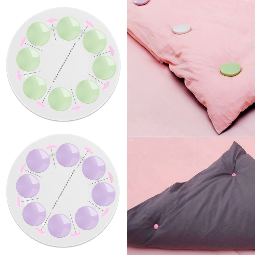 25Pcs/Set DIY Slip-Resistant Grippers Fastener Non-Slip Garment Clips Quilt Fixer Mattress Clip Bed Sheets Buckle