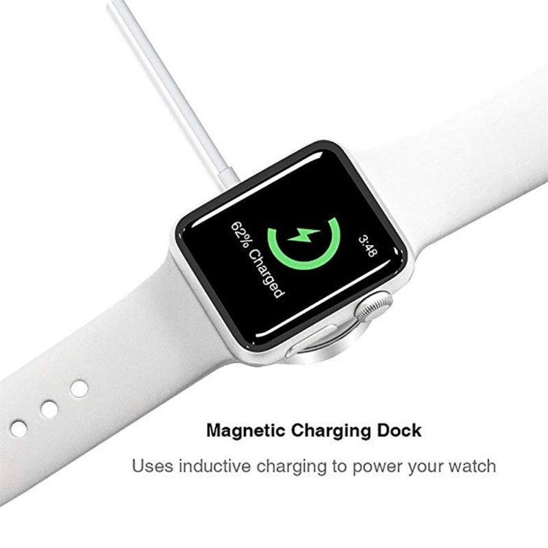Magnetic Wireless Charging Cable Fast Charging Adapter For IWatch 1/2/3