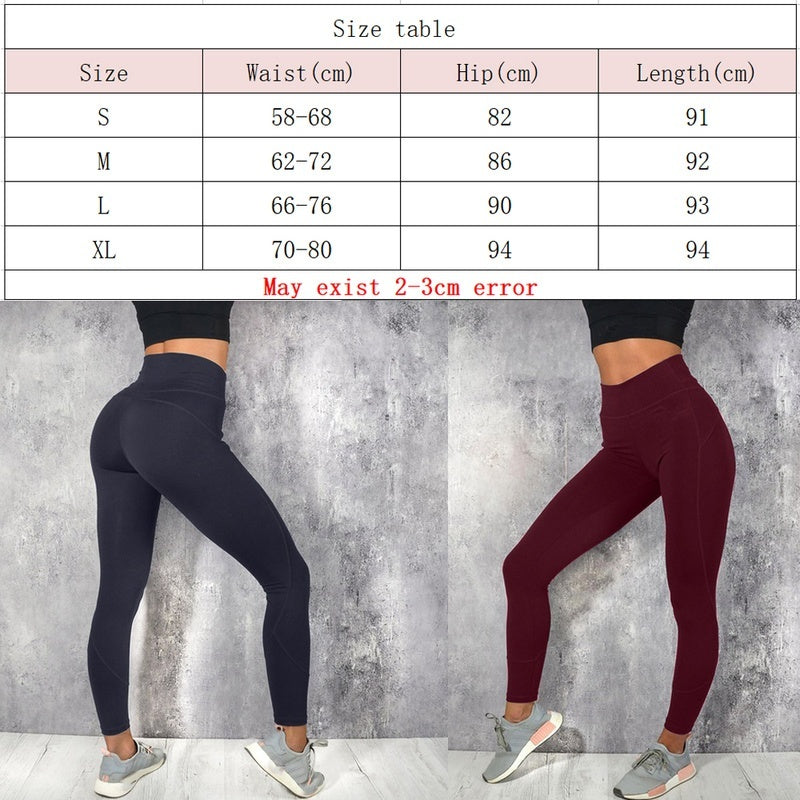 Seamless High Waist Yoga Leggings Tights Women Workout Breathable Fitness Clothing Training Pants Female 6 Color