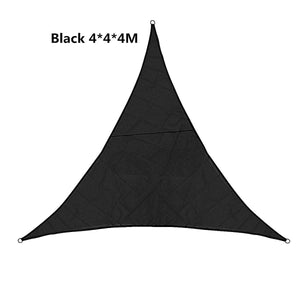 3 Types Sun Shade Sail Garden Patio Sunscreen 420D Oxford Awning Canopy Screen 95% UV Block Greenbay for Camping Panic Regular Triangle/Square/Rectangle