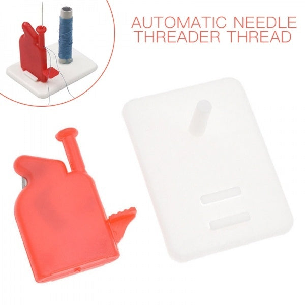 Automatic Needle Threader Thread Guide Elderly Use Pot Type Sewing Tool