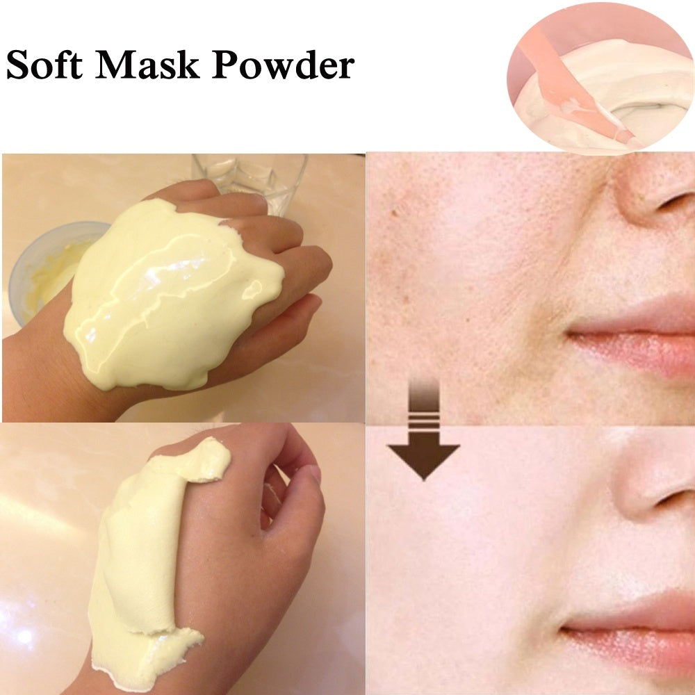 Fashion Moisturzing Anti Wrinkle DIY SPA Collagen Hyaluronic Acid Peel Off Powder Mask Face Mask