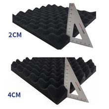 Load image into Gallery viewer, New Upgrade High Density Studio Acoustic Foams Panels Sound Insulation Foam Studio Foam 12 * 12in/30*30*2/4CM Multiple Colour Wall Panel 12/24Pcs