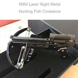 Upgrade New Mini Crossbows Alloy Material Powerful Hunting Crossbows with Laser Sight