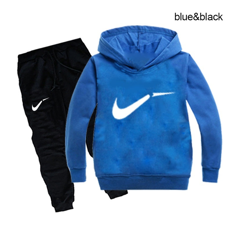 Kids autumn winter sweatshirts and sweatpants girls boys tracksuit hoodies suits