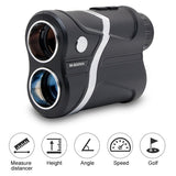 Rechargeable 600m 7X Waterproof Golf Range Finder Distance Meter Hunting Laser Rangefinder Laser Binoculars Telescope