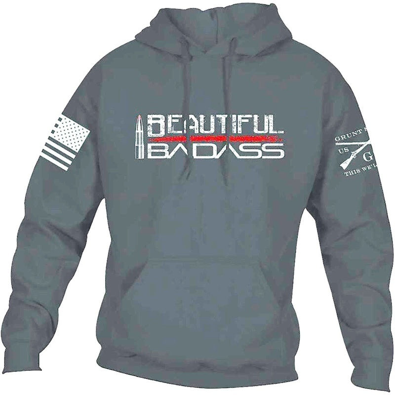 Men's Fashion Casual Style Men Relaxed Flag Sweatshirt  Pullover Hoodie