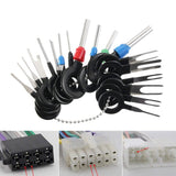36PCS New Accessories Automotive Assemble & Disassemble Wire Plug Connector Extractor Pin Release Kit Needle Puller Car Terminal Removal Tool
