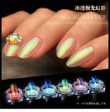 Ice-penetrated Naked Powder Aurora Pink Net Red Manicure Phantom Mermaid Mirror Powder Magic Mirror Powder Fairy Powder