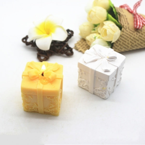 Fashion Christmas Silicone Candle Mould Aroma Candle Gypsum Mold for DIY Soap Making