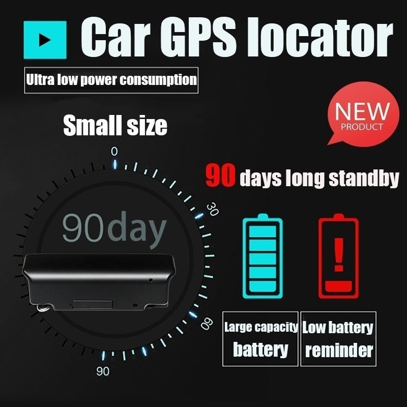 Car GPS locator tracker can record Mini tracker long standby 90 days
